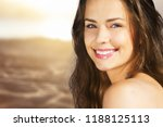 outdoor summer portrait of... | Shutterstock . vector #1188125113