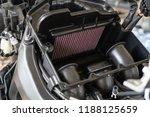 air filter in a sport... | Shutterstock . vector #1188125659