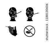 neurotoxin injection glyph... | Shutterstock .eps vector #1188130606