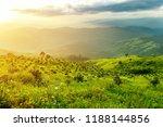 high mountain landscape  the... | Shutterstock . vector #1188144856