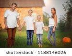 happy family having fun...   Shutterstock . vector #1188146026