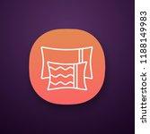 pillows app icon. ui ux user...
