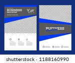 vector background brochure... | Shutterstock .eps vector #1188160990