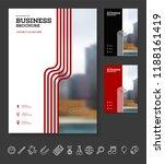 vector background brochure... | Shutterstock .eps vector #1188161419