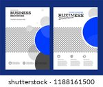 vector background brochure... | Shutterstock .eps vector #1188161500