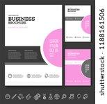 vector background brochure... | Shutterstock .eps vector #1188161506