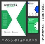 vector background brochure... | Shutterstock .eps vector #1188161563