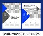 vector background brochure... | Shutterstock .eps vector #1188161626