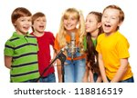 Classmates Singing Together...