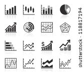 business infographic icons  ... | Shutterstock .eps vector #118817194