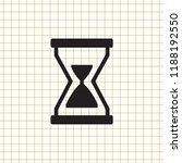 illustration of hourglass icon... | Shutterstock .eps vector #1188192550