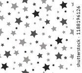 seamless texture of a stars.... | Shutterstock .eps vector #1188196126