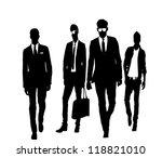 man team | Shutterstock . vector #118821010
