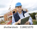 building entrepreneur using... | Shutterstock . vector #118821070