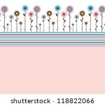 abstract background with...   Shutterstock . vector #118822066