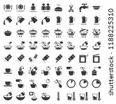 cooking instruction solid icon  ... | Shutterstock .eps vector #1188225310