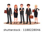 vector illustration of office... | Shutterstock .eps vector #1188228046