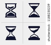 sand clock vector | Shutterstock .eps vector #1188230239