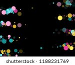 memphis round confetti airy...   Shutterstock .eps vector #1188231769