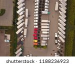 top down aerial drone image of... | Shutterstock . vector #1188236923