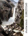 Lower Yosemite Fall At Yosemit...