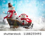 a festive winter background... | Shutterstock . vector #1188255493
