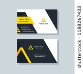 creative business card template ... | Shutterstock .eps vector #1188267433