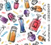 Sketch Outline Female Perfumes...