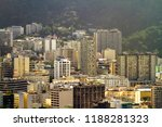 aerial view of the botafogo...   Shutterstock . vector #1188281323