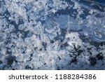 ice texture background | Shutterstock . vector #1188284386