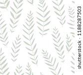 vector seamless deciduous... | Shutterstock .eps vector #1188287503