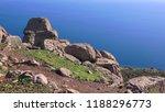 assos  ruins of ancient city on ... | Shutterstock . vector #1188296773