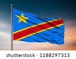 waving flag of the democratic... | Shutterstock . vector #1188297313