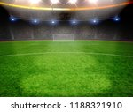 the soccer stadium with the... | Shutterstock . vector #1188321910
