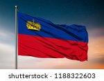 waving flag of the... | Shutterstock . vector #1188322603