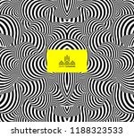 pattern with optical illusion.... | Shutterstock .eps vector #1188323533