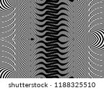 pattern with optical illusion.... | Shutterstock .eps vector #1188325510