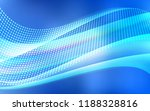 light blue vector cover with... | Shutterstock .eps vector #1188328816