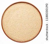 gluten free ivory teff grain in ... | Shutterstock . vector #1188330190