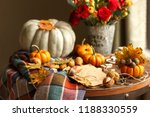 Fall Seasonal Decorations With...