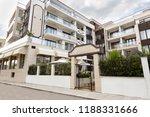 modern building exterior.... | Shutterstock . vector #1188331666