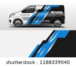 van wrap design for company ... | Shutterstock .eps vector #1188339040