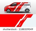 van wrap design for company ... | Shutterstock .eps vector #1188339049