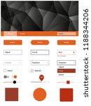 light orange vector material...