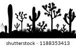 Desert Seamless Pattern With...