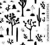 desert seamless pattern with...   Shutterstock .eps vector #1188353416