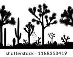 desert seamless pattern with...   Shutterstock .eps vector #1188353419