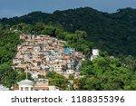 cerro cora favela expanding...   Shutterstock . vector #1188355396