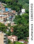 cerro cora favela expanding...   Shutterstock . vector #1188355453