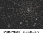 dew on a grid of concentric... | Shutterstock .eps vector #1188360379